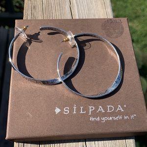 P1731 Twist of Faith Silpada sterling earrings
